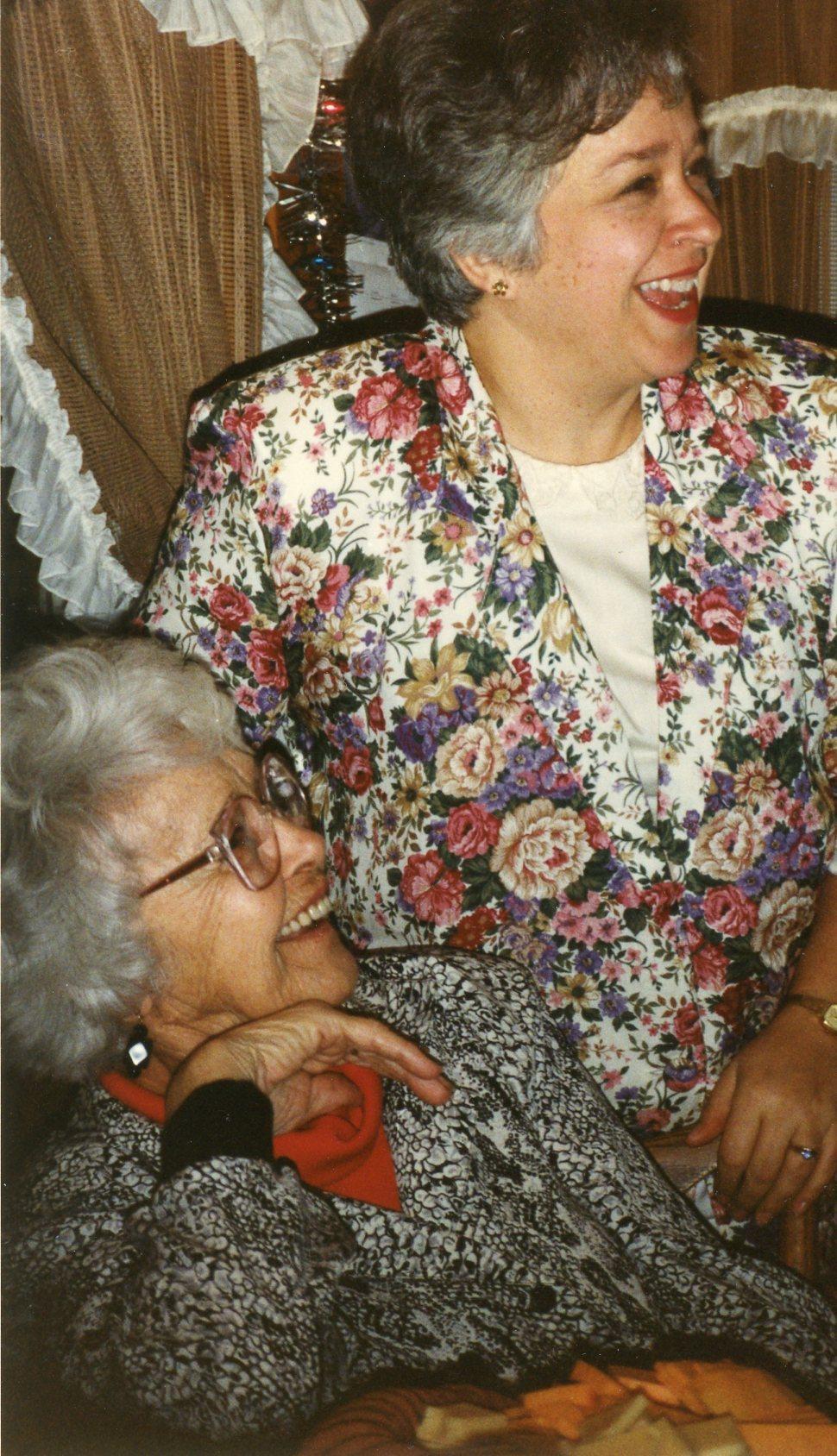 Mom & Delores