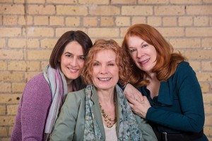 Alison Edwards, Shelli Place and Elena Giannetti (left to right), the founders of PRIME Productions, share a combined 110-plus years of experience in stage, film and television.