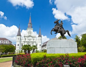 Jackson Square in New Orlean