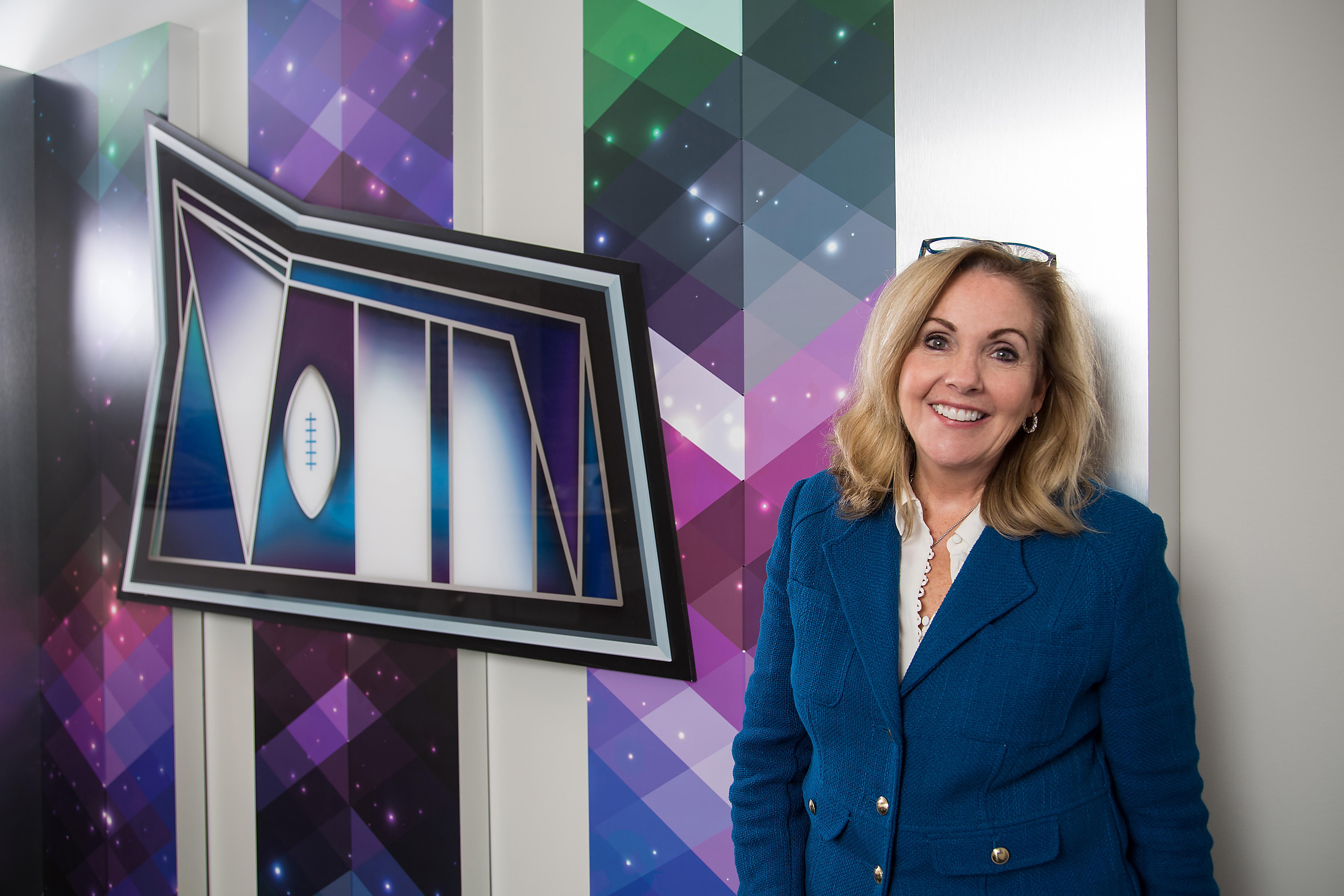 CEO of the Minnesota Super Bowl Host Committee Maureen Bausch