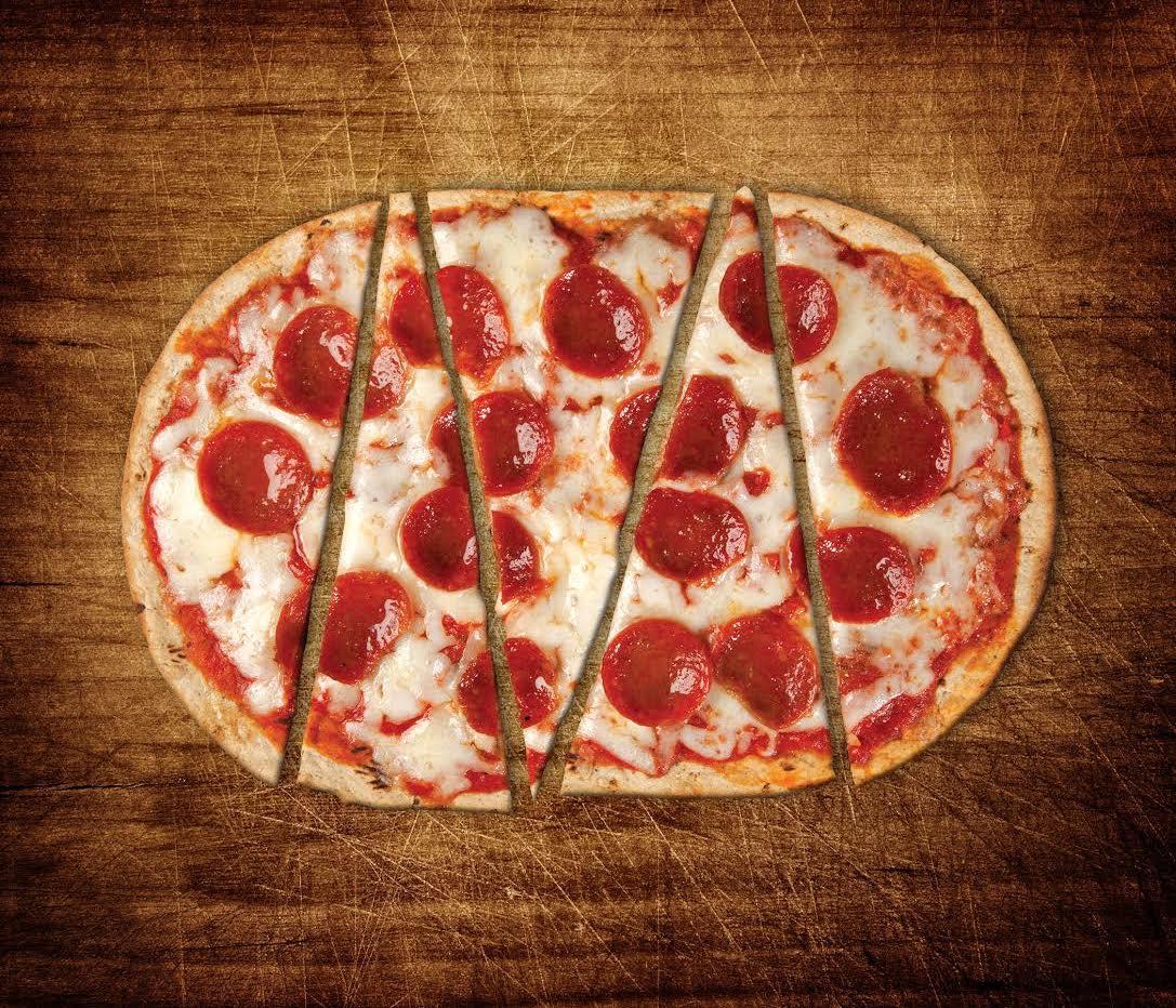 Pizza using Flatout flatbread