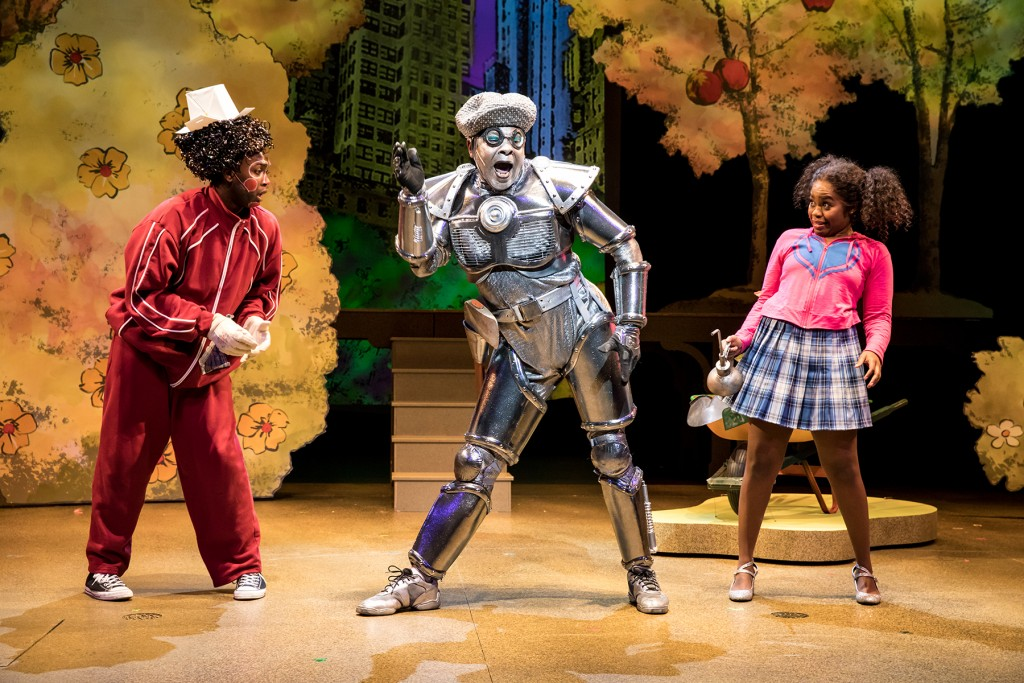 Dennis Spears as the Tin Man in The Wiz.