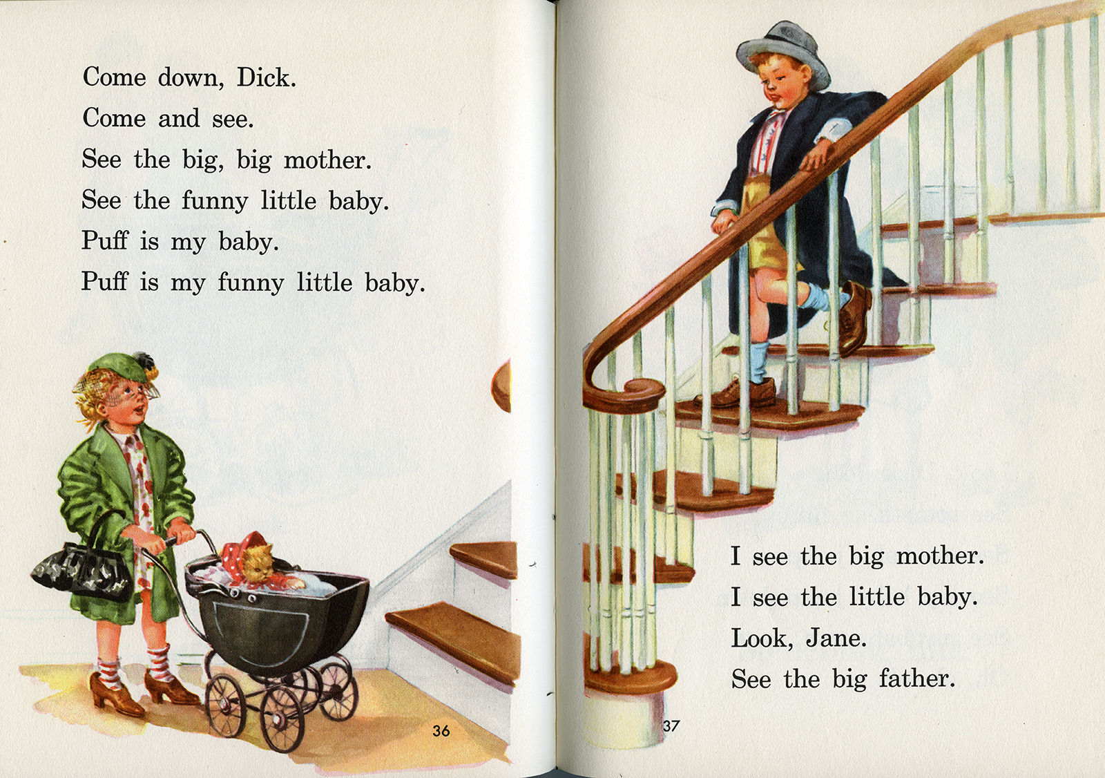 Dick and Jane Play Dad and Mom