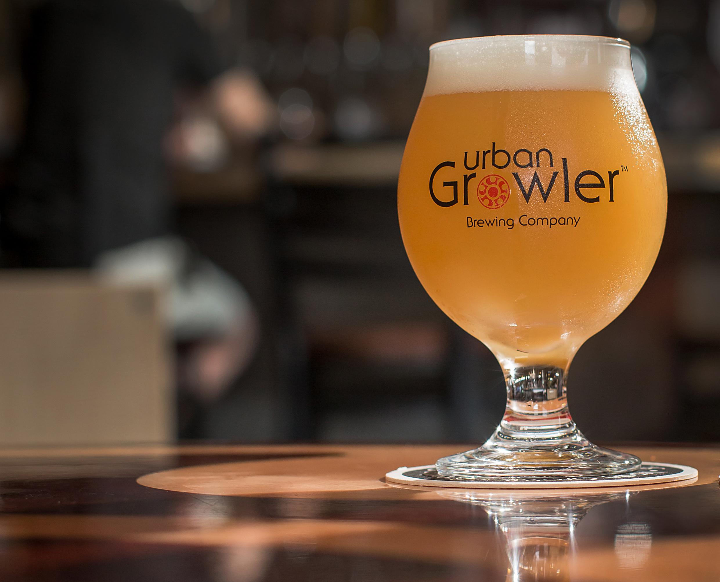 Urban Growler beer