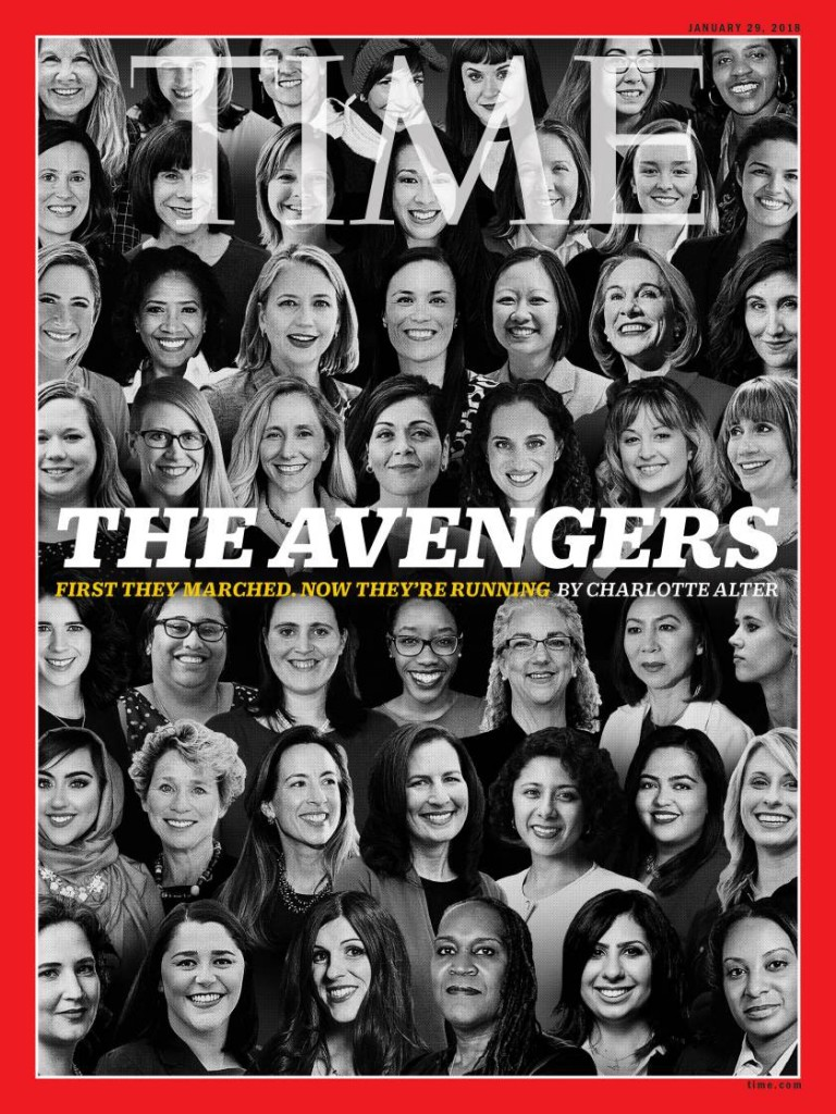 Andrea Jenkins on the cover of Time magazine