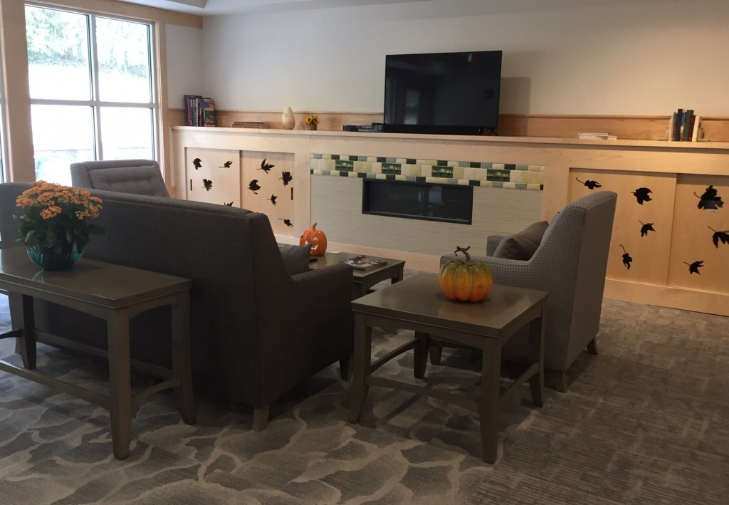 TV room at The Lodge
