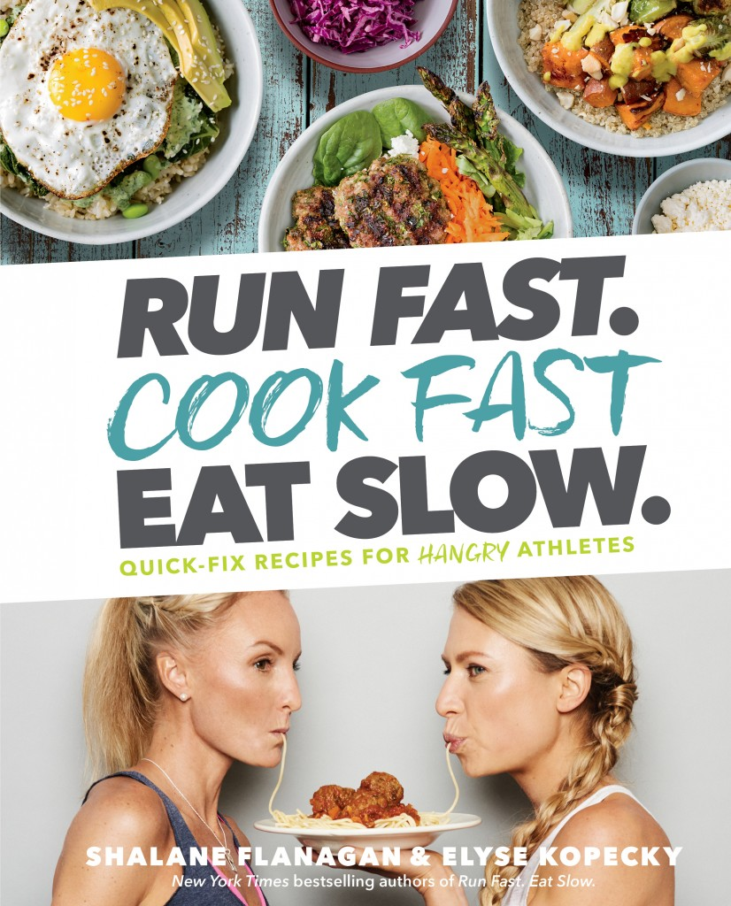 Run Fast. Cook Fast. Eat Slow. Cover