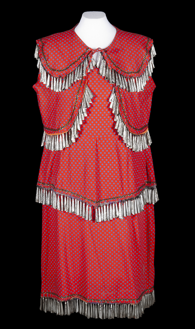 A jingle dress created in the 1920s
