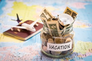 vacation and money