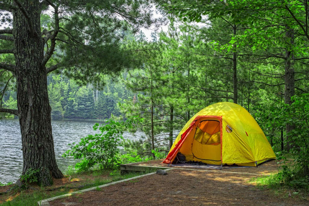 Voyageurs National Park camping