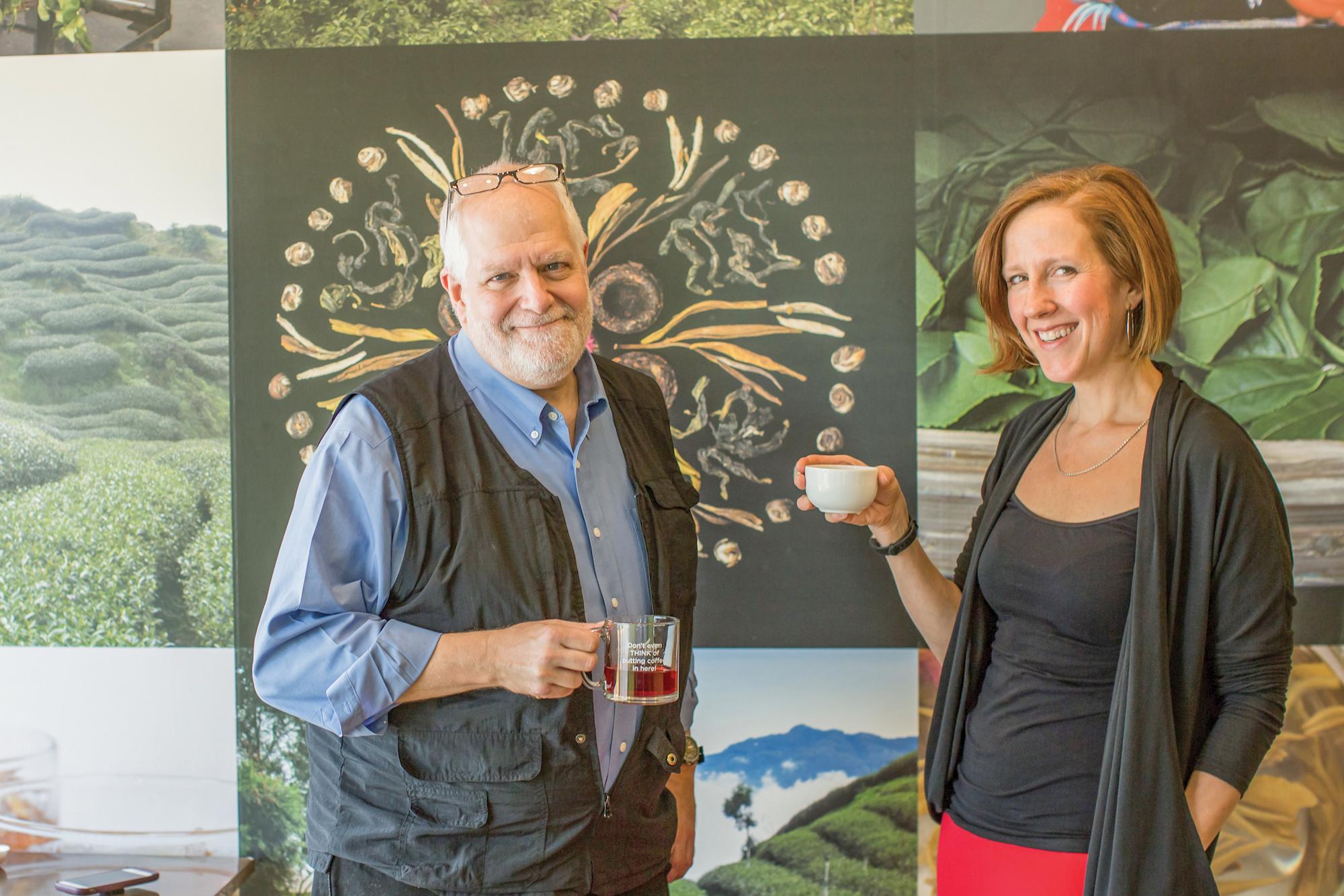 Bill Waddington and Sarah Jackson