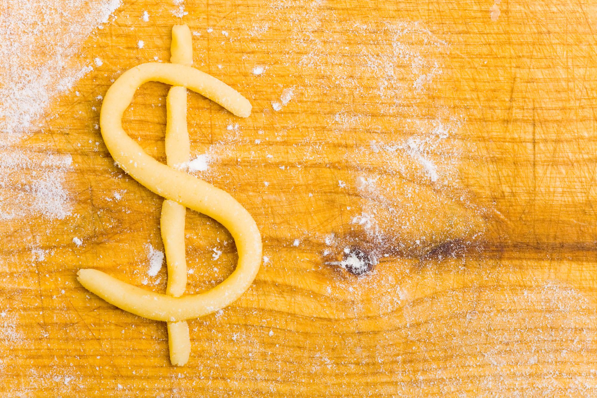 dough as money